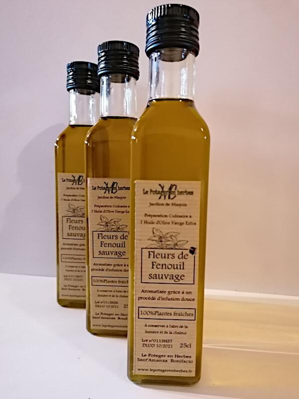 huile fleurs de feunouil