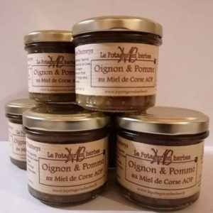 Chutney Oignon Pomme au Miel de Corse